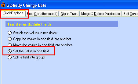 DD Set Value in (1)