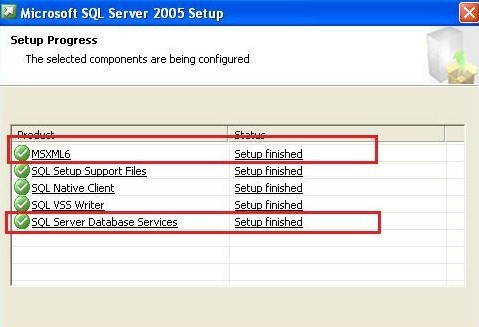 SQL-Install Support