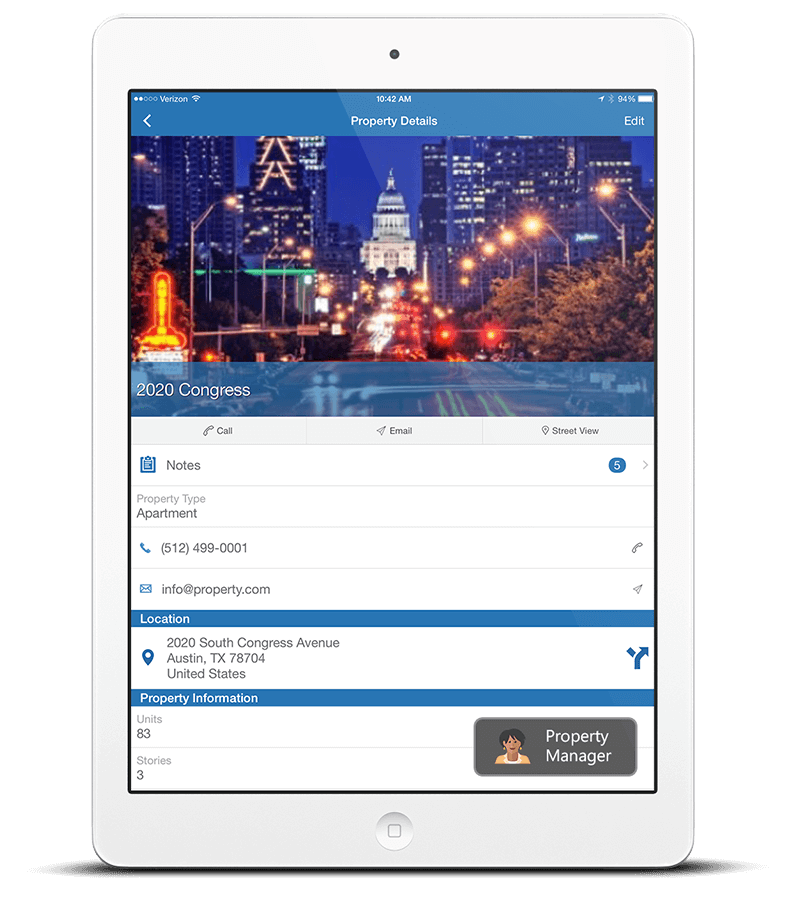 Property-Manager Commercial Real Estate CRM App