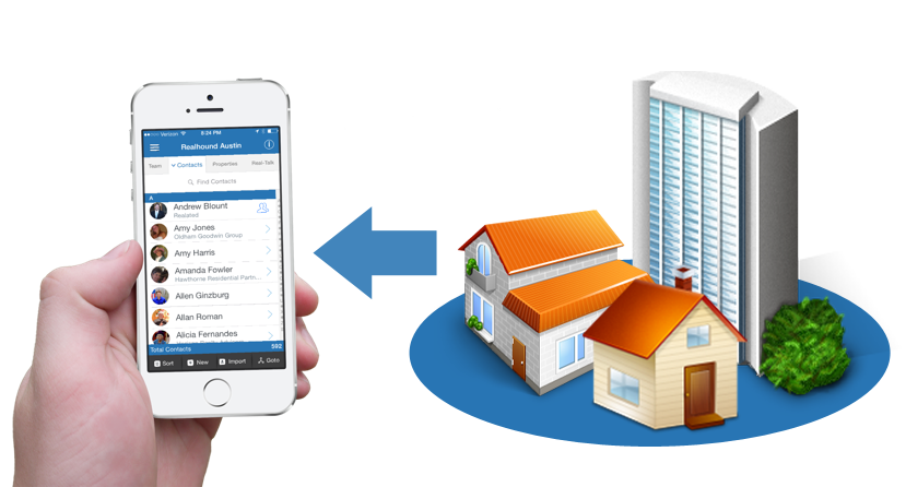 Linking-Contacts-With-Properties-2- Commercial Real Estate PRM App Features