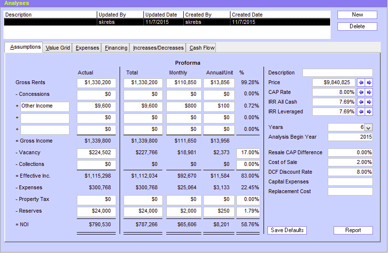 performa Commercial Real Estate Software